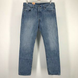 Levi's Mens 501 Jeans 34 x 34 Straight Button Fly